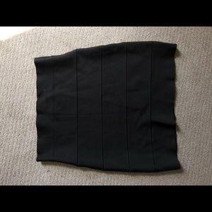 Black BCBG Max Azria bandage skirt